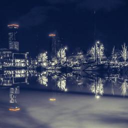 dodgereffect leeuwarden netherlands blackandwhite nightphotography