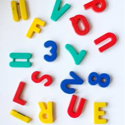 freetoedit numbers background color colorful