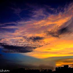 panorama photography northernlights sky sillhoute freetoedit