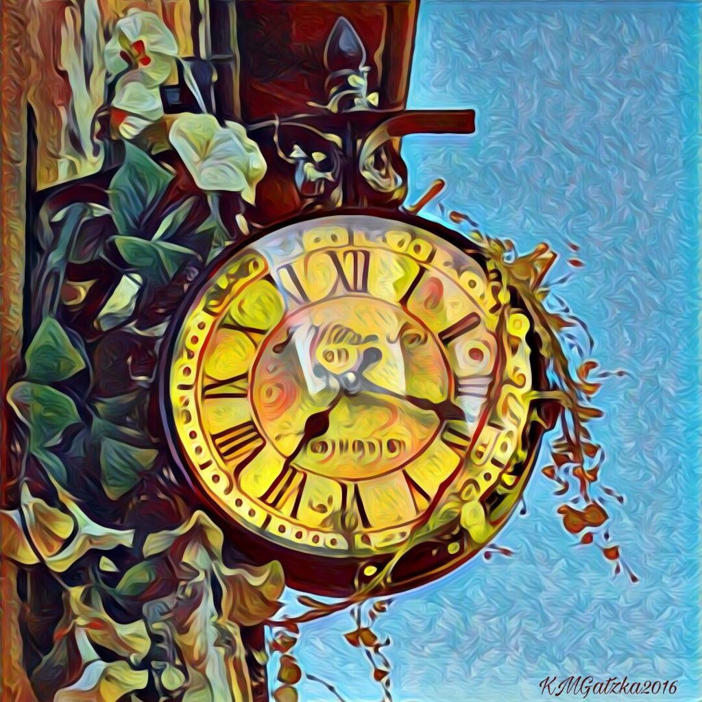 #prisma  #picsart  #oilpainting  #masking  #layers  #vintage  #clock   Vintage Clock layered and masked