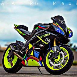 yamaha yamahar6 biker yamahar6r bike freetoedit