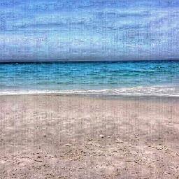 beach ocean sky relaxation freetoedit