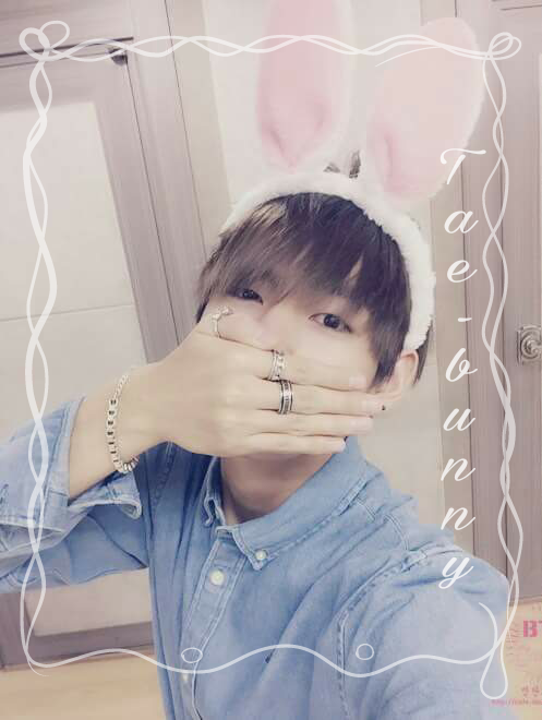 Tae looks so cute in this picture😍💖  . . #bts #taehyung  #taebunny  #kpopedit