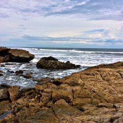 coastal beach nicaragua cloudsandsky