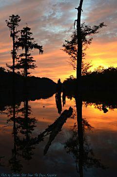 bayoukayaker sunset nature