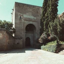 spain andalucia granada alhambra islamic