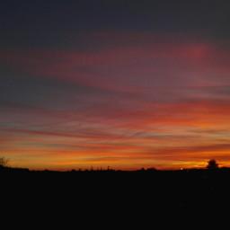 freetoedit sunset colorful contrast sky