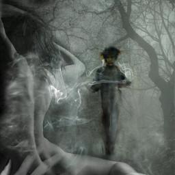 shecallstohim gothicart gothic gothic_infity dark_portrait