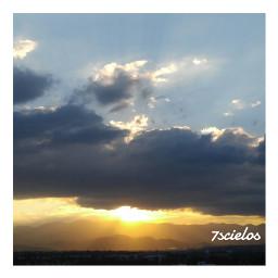 sky landscspe lovethis clouds lights