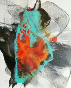 art artwork heart coldheart painting freetoedit