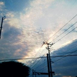 skyporn sky clouds movement cloudyday