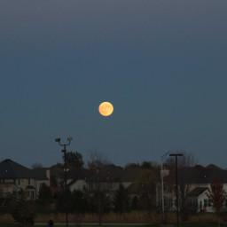 freetoedit supermoon moon nightsky hilltop