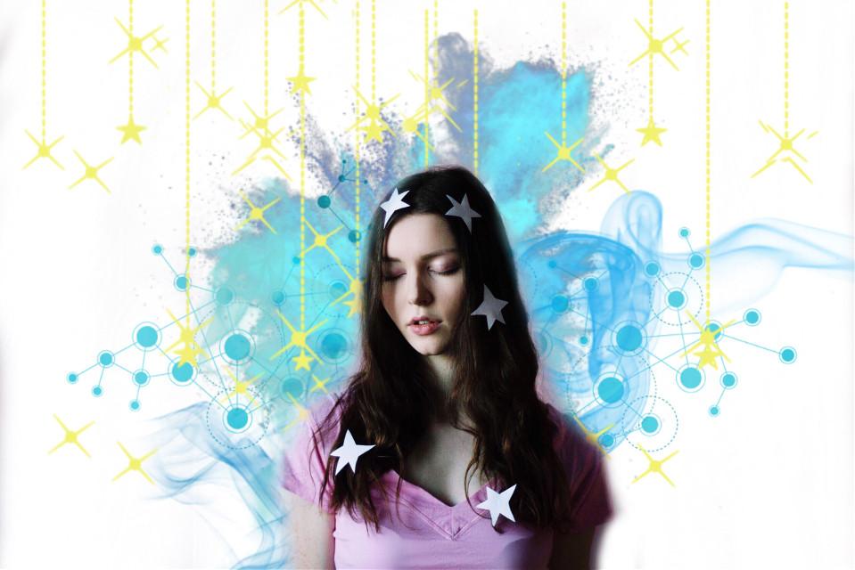 #FreeToEdit   #edited #girl #stars #cute #fun