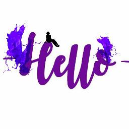 freetoedit remix hello splashpaint purple