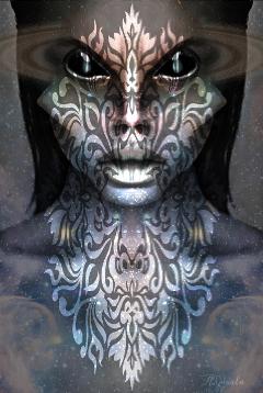colorful dark transformation art undefined freetoedit