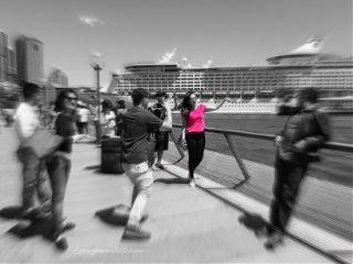 pink colorsplash madewithpicsart focalzoom blur