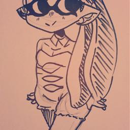 art doodle pen sharpie splatoonart